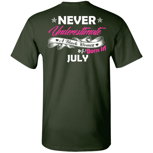 Limited Edition **Black Women Born In July** Shirts & Hoodies