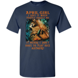 Limited Edition** April Girl Don't Have To Play Anymore** Shirts & Hoodies