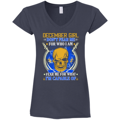 Limited Edition **Don't Fear December Girl** Shirts & Hoodies