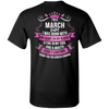 ****Perfect Shirt For March Born** Limited Edition Shirts & Hoodies