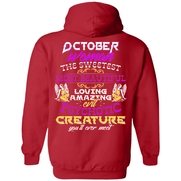 Limited Edition October Sweet Women Back Print Shirts & Hoodies