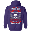 Limited Edition **March Girl With Three Sides** Shirts & Hoodies