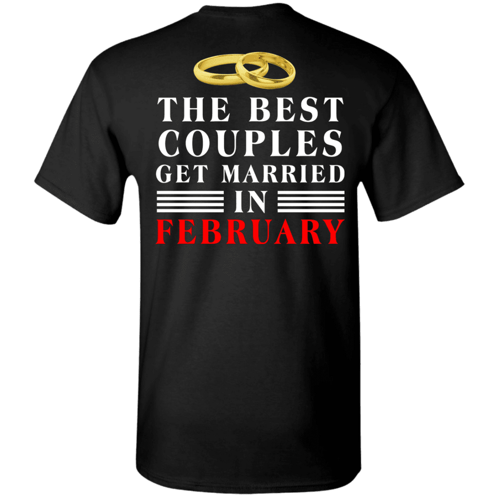 Special Edition**  Couples Get Married In February** Shirts & Hoodies