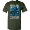 Limited Edition **As An April Girl I Can't Go To Hell** Shirts & Hoodie