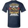 Limited Edition **Nana Is My Favorite** Shirts & Hoodies
