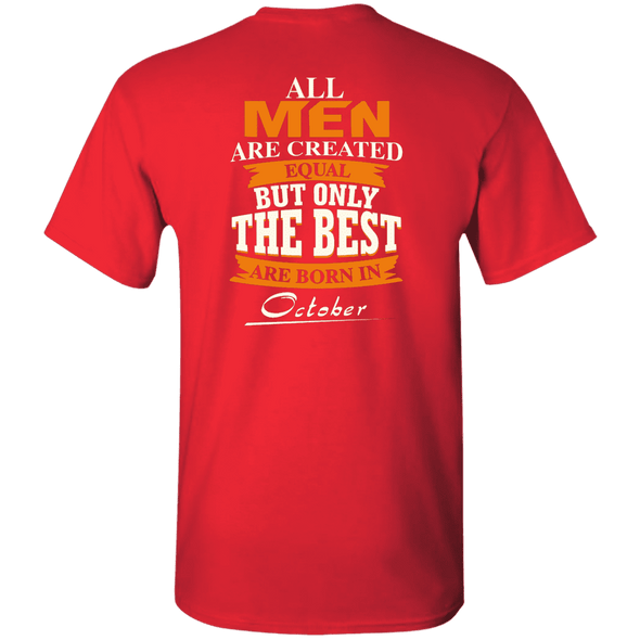 Limited Edition **Only Best Men Are Born In October** Shirts & Hoodie