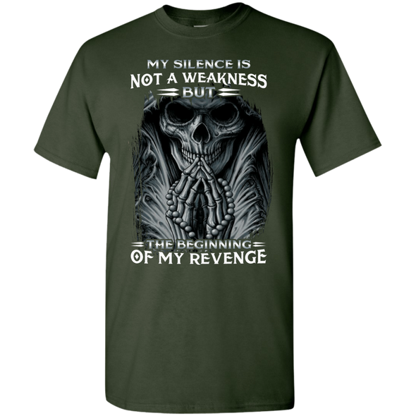 Limited Edition **My Silence Is Not Weekness** Quotation Shirt & Hoodies