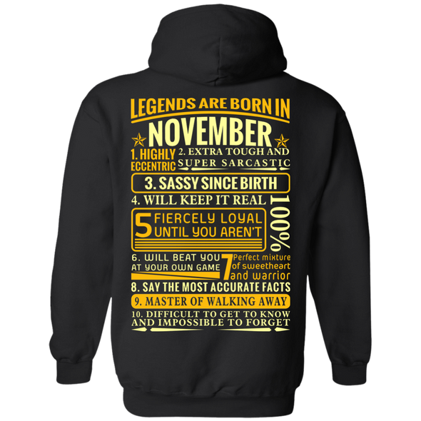 New Edition **Legends Are Born In November** Shirts & Hoodies