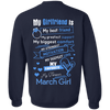 Limited Edition **March Girlfriend Biggest Comfort** Shirts & Hoodies