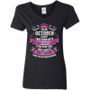 Newly Launched **October Girl Born With Heart On Sleeve** Shirts & Hoodies