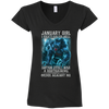 Limited Edition **As A January Girl I Can't Go To Hell** Shirts & Hoodie