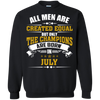 Limited Edition **Champions Are Born In July** Shirts & Hoodies