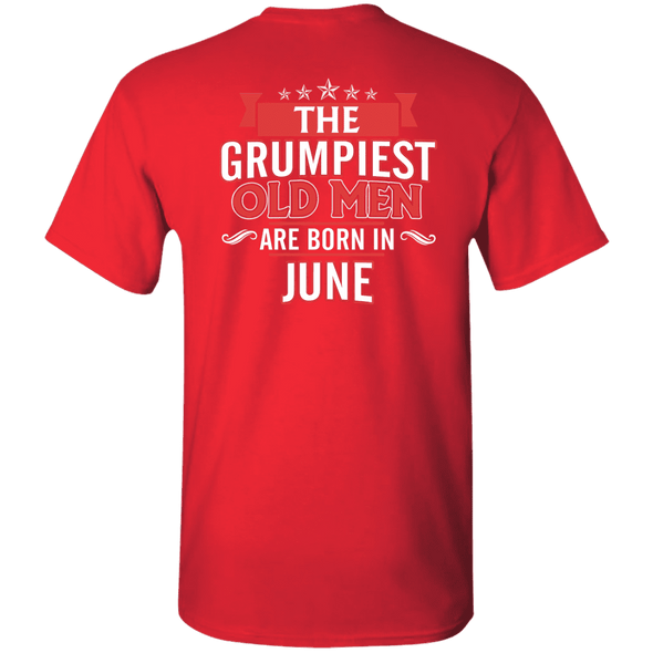 Limited Edition June Grumpiest Old Man Shirts & Hoodies