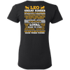 Long Quote Leo Back Printed***Limited Edition*** Shirts