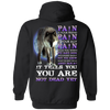 Limited Edition **Pain Is Your Friend** Shirts & Hoodies