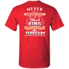 Limited Edition February Black King Shirts & Hoodies