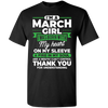**March Girl** Fire In Soul Shirts & Hoodies