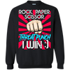 Newly Launched **Rock Paper Scissor** Shirts & Hoodies