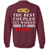 Special Edition**  Couples Get Married In March** Shirts & Hoodies