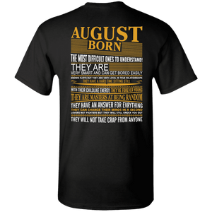 ***Limited Edition*** August Shirts - Perfect For People Born In August