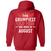 Limited Edition August Grumpiest Old Man Shirts & Hoodies