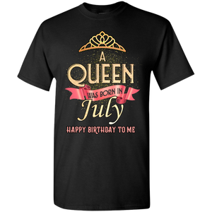 Newly Launched **Queen Are Born In July** Shirts & Hoodies