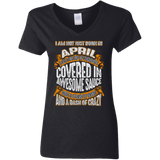 **Wonderful April Girl Covered In Awesome Sauce** Shirts & Hoodies