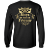 Limited Edition **Kings Are Born In February** Shirts & Hoodies