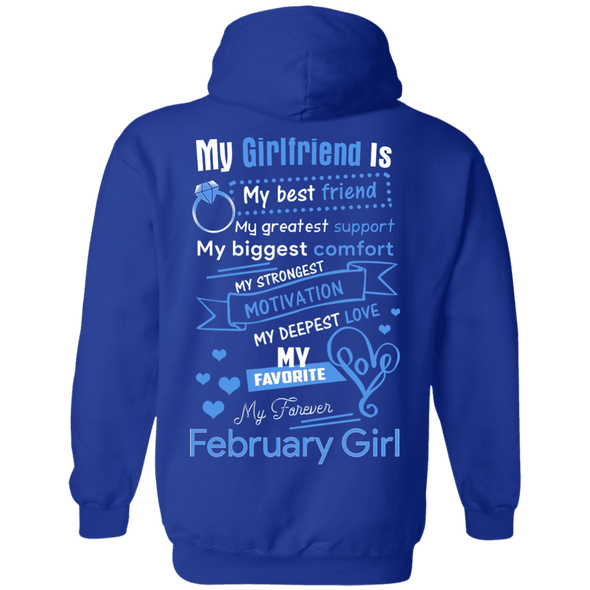 Limited Edition **February Girlfriend Biggest Comfort** Shirts & Hoodies
