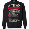 Newly Launched **5 Things You Should Know About Me** Shirts & Hoodies