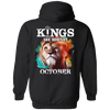 Limited Edition October Born Lion King Shirts & Hoodies