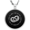 Limited Edition Love To My Husband Circle Necklace