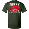 Limited Edition **August Super Sexy Girlfriend** Shirts & Hoodies