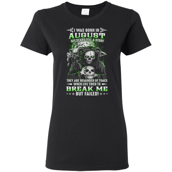 New Edition **August - My Scars Tell My Story** Shirts & Hoodie
