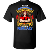 Limited Edition **Power Of Woman Born In February** Shirts & Hoodies