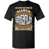 **Wonderful March Girl Covered In Awesome Sauce** Shirts & Hoodies