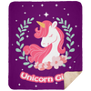 Limited Edition Unicorn Girl Blanket