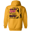 Newly Launched**January Born Girl Back Print Shirts & Hoodies**