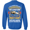 Limited Edition **My Lifetime** Personalized Shirts & Hoodies