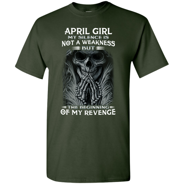 Limited Edition **April Girl My Silence Is Not My Weakness** Shirts & Hoodies