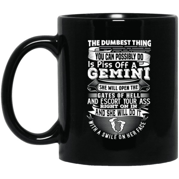 Gemini The dumbest Thing Mug