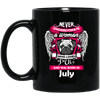 July Women Who Loves Pug Mug