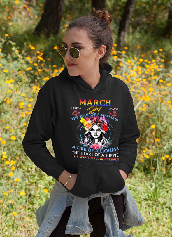 Limited Edition **March Girl Fire Of Lioness** Shirts & Hoodies