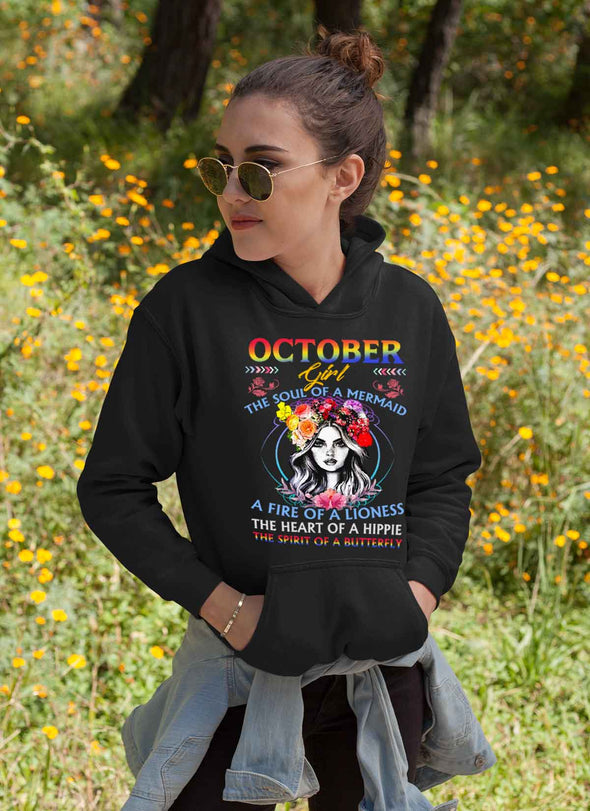 Limited Edition **October Girl Fire Of Lioness** Shirts & Hoodies