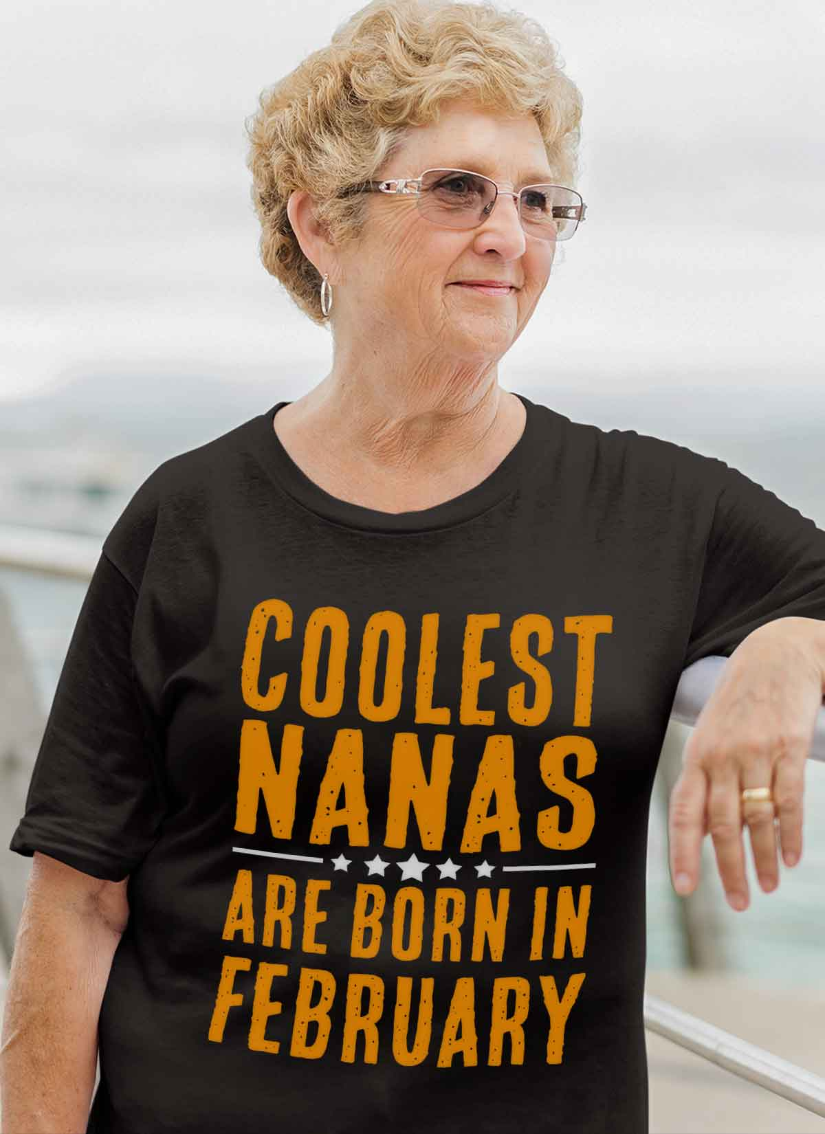 Limited Edition **Coolest Nana Born In February** Shirts & Hoodie