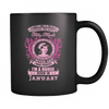 January Born Good Heart Nurse Mug