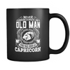 Capricorn Never Underestimate An Old Man Mug