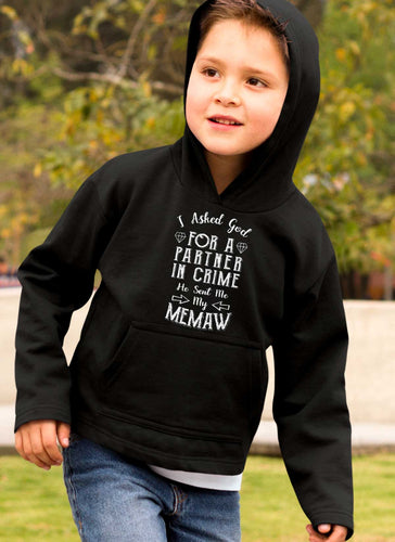 Limited Edition **Memaw Partner In Crime** Shirts & Hoodies