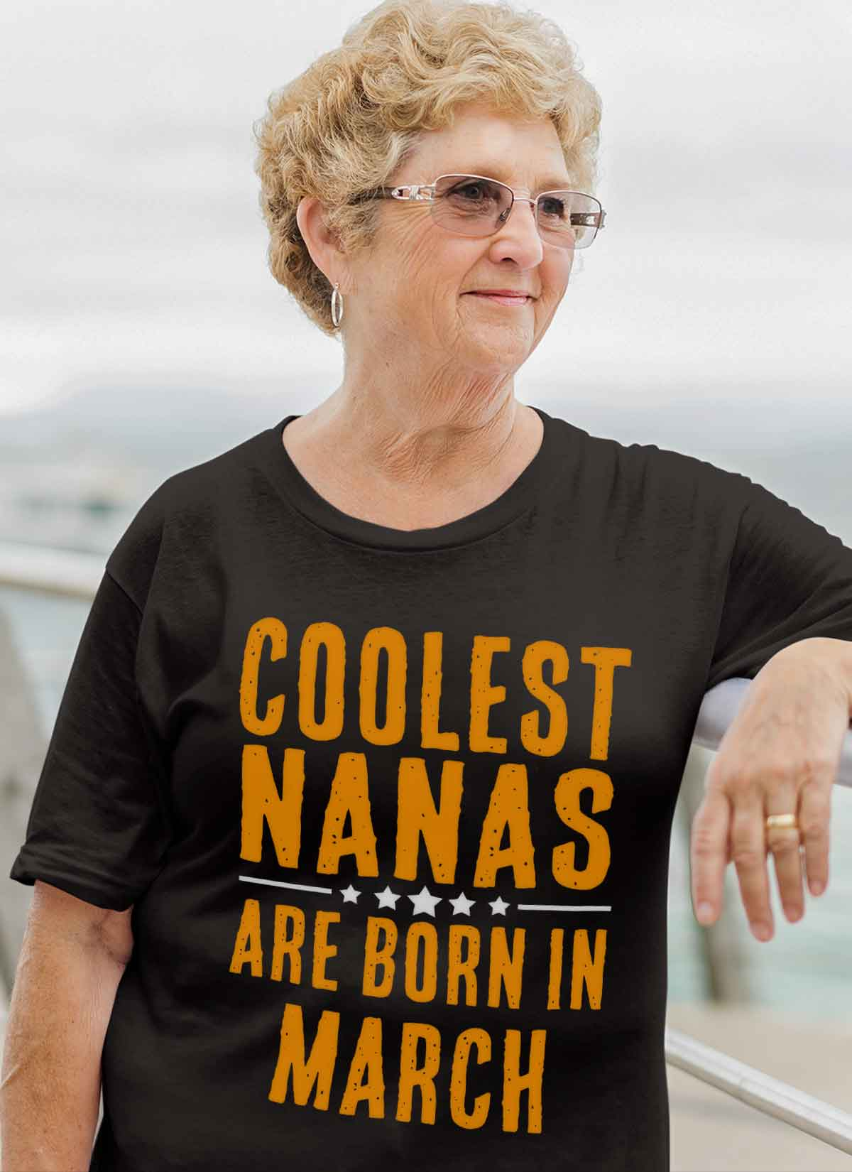 Limited Edition **Coolest Nana Born In March** Shirts & Hoodie
