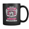 November Women Who Loves Camera Mug